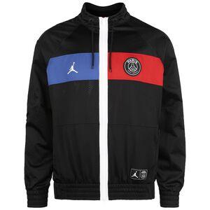 Paris St.-Germain Jordan Trainingsjacke Herren, schwarz / rot, zoom bei OUTFITTER Online