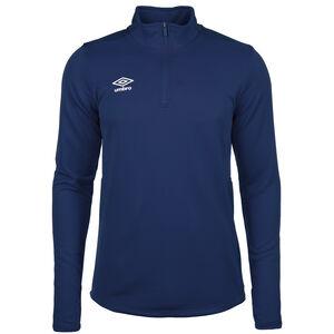Half-Zip Trainingsshirt Herren, blau / dunkelblau, zoom bei OUTFITTER Online