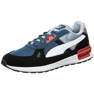 Graviton Pro Sneaker Herren, blau / orange, zoom bei OUTFITTER Online