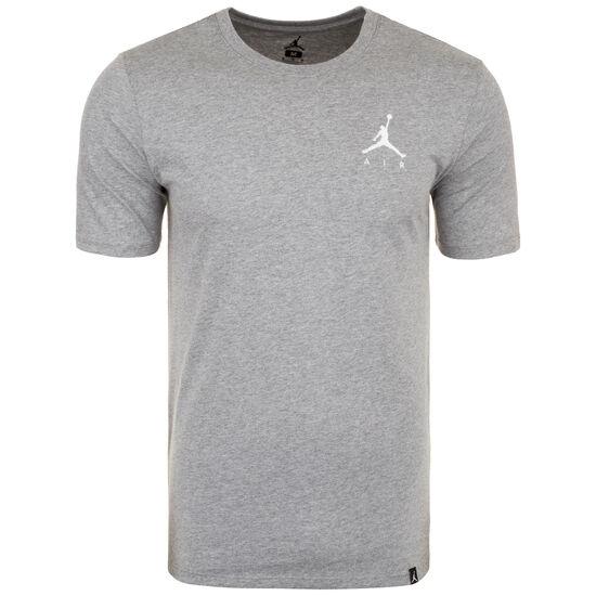 Jordan Jumpman Embroidered Air Herrenshirt, grau / weiß, zoom bei OUTFITTER Online
