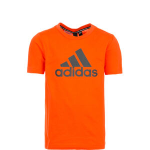 Must Haves Badge of Sport T-Shirt Jungen, orange, zoom bei OUTFITTER Online