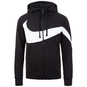 Sportswear Kapuzenjacke Herren, schwarz / weiß, zoom bei OUTFITTER Online