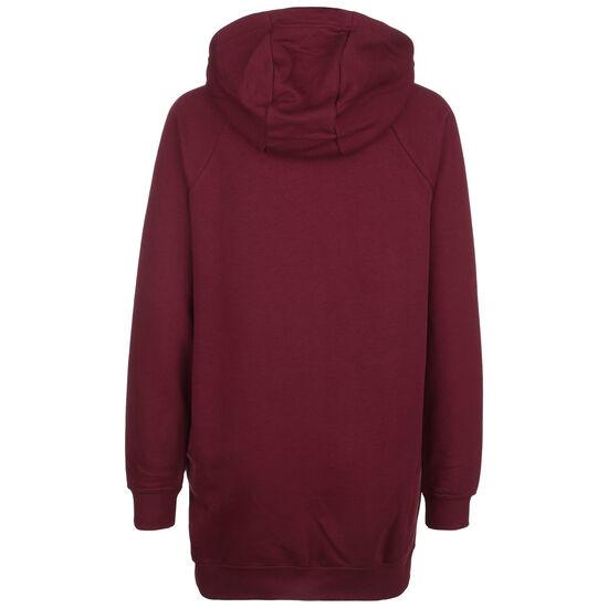 Essential Fleece Kleid Damen, bordeaux / weiß, zoom bei OUTFITTER Online