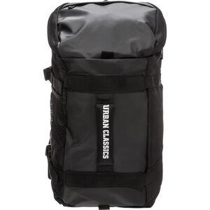 Traveller Rucksack, schwarz, zoom bei OUTFITTER Online