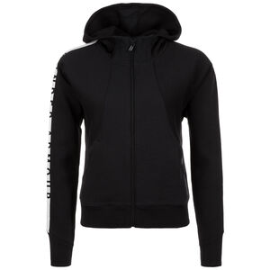 AllSeasonGear Better Europe Fleece Trainingskapuzenjacke Damen, Schwarz, zoom bei OUTFITTER Online