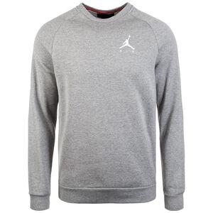 Jordan Jumpman Fleece Sweatshirt Herren, grau / weiß, zoom bei OUTFITTER Online