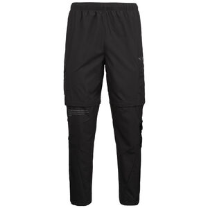x First Mile 2in1 Woven Laufhose Herren, schwarz, zoom bei OUTFITTER Online
