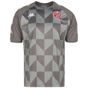 1. FSV Mainz 05 Trainingsshirt Herren, grau / weiß, zoom bei OUTFITTER Online