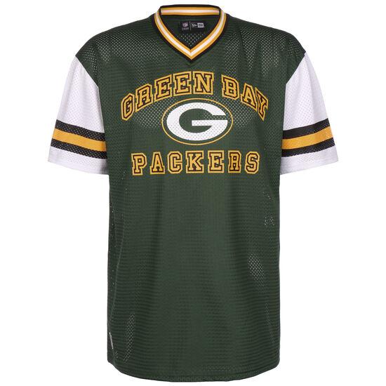 NFL Green Bay Packers Stripe Sleeve Oversized T-Shirt Herren, grün / gelb, zoom bei OUTFITTER Online
