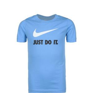 Just Do It Swoosh T-Shirt Kinder, hellblau / weiß, zoom bei OUTFITTER Online