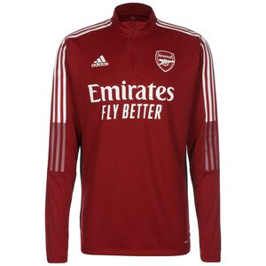 FC Arsenal Trainingssweat Herren, rot / weiß, zoom bei OUTFITTER Online