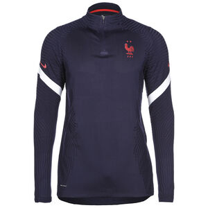 Frankreich VaporKnit Strike Drill Sweatshirt EM 2021 Herren, dunkelblau / weiß, zoom bei OUTFITTER Online
