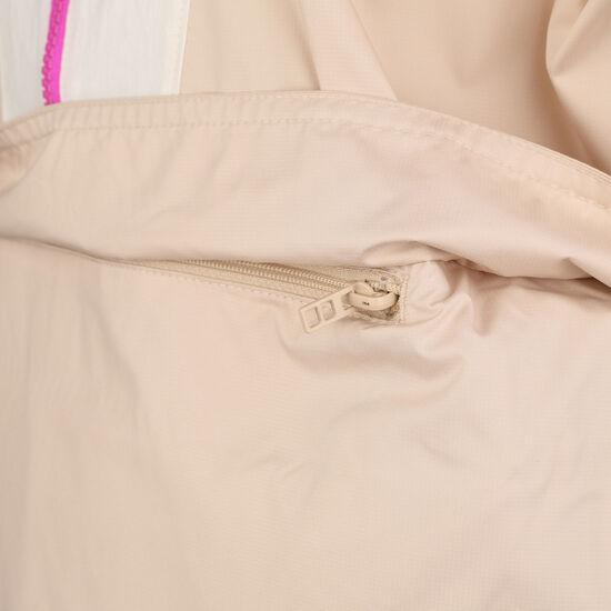 Icon Clash Lightweight Kapuzenjacke Damen, beige / pink, zoom bei OUTFITTER Online