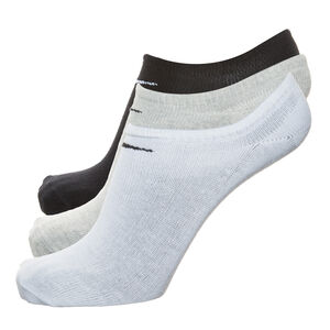 Value No-Show Socken 3er Pack, Schwarz, zoom bei OUTFITTER Online
