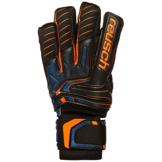 Attrakt G3 Fusion Ortho-Tec Goaliator Torwarthandschuh Herren, neonorange / blau, zoom bei OUTFITTER Online