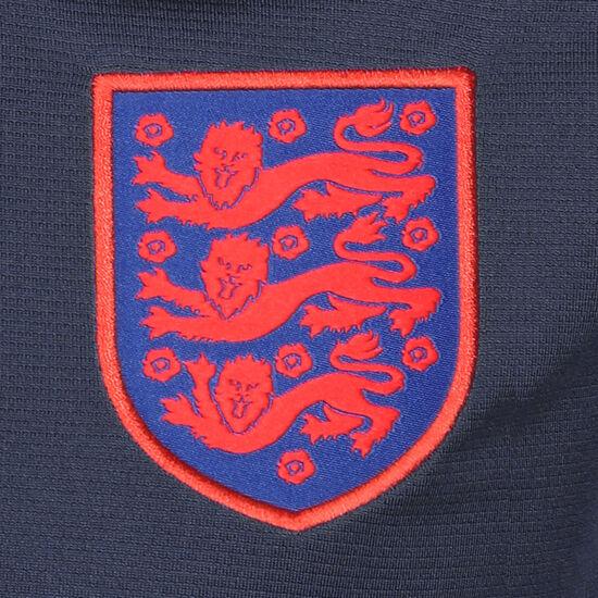 England Breathe Strike Trainingsshirt EM 2021 Kinder, dunkelblau / rot, zoom bei OUTFITTER Online