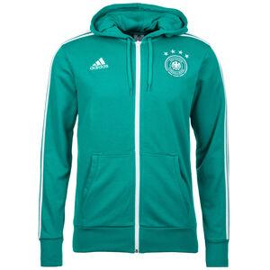 DFB 3S Kapuzenjacke WM 2018 Herren, grün / weiß, zoom bei OUTFITTER Online