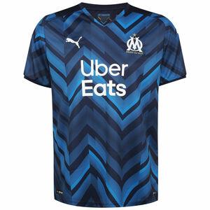 Olympique Marseille Trikot Away 2021/2022 Herren, dunkelblau / weiß, zoom bei OUTFITTER Online