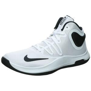 Air Versitile IV Basketballschuh Herren, weiß / schwarz, zoom bei OUTFITTER Online