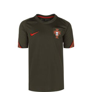 Portugal Breathe Strike Trainingsshirt EM 2021 Kinder, dunkelgrün / rot, zoom bei OUTFITTER Online