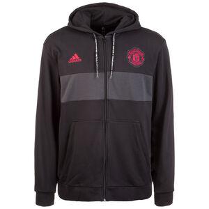 Manchester United Kapuzenjacke Herren, schwarz / rot, zoom bei OUTFITTER Online
