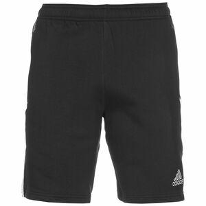 Tiro 21 Sweat Trainingsshorts Herren, schwarz / weiß, zoom bei OUTFITTER Online