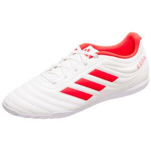 Copa 19.4 Indoor Fußballschuh Herren, weiß / rot, zoom bei OUTFITTER Online