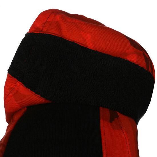 Chicago Bulls AOP Courtside Kapuzenpullover Herren, rot / schwarz, zoom bei OUTFITTER Online