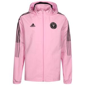 Inter Miami CF All Weather Jacke Herren, pink / schwarz, zoom bei OUTFITTER Online