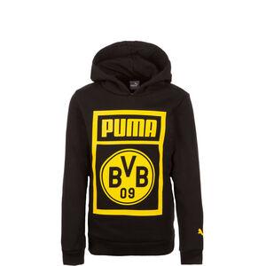 Borussia Dortmund Shoe Tag Kapuzenpullover Kinder, Schwarz, zoom bei OUTFITTER Online