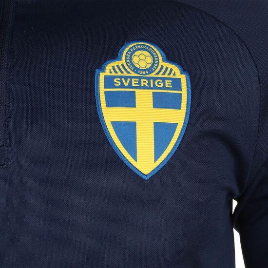 Schweden Trainingssweat EM 2020 Herren, dunkelblau / gelb, zoom bei OUTFITTER Online