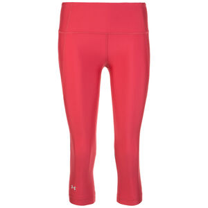 HeatGear Armour Branded Capri Trainingstight Damen, pink, zoom bei OUTFITTER Online