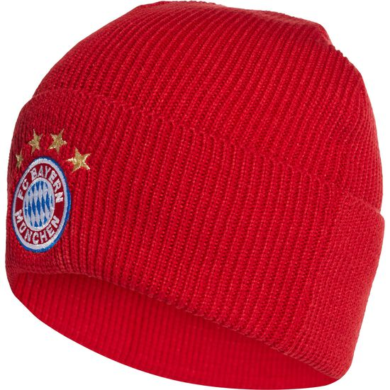FC Bayern München Beanie, rot, zoom bei OUTFITTER Online