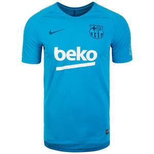 FC Barcelona Breathe Squad Trainingsshirt Herren, blau / dunkelblau, zoom bei OUTFITTER Online