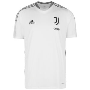 Juventus Turin Trainingsshirt Herren, weiß / grau, zoom bei OUTFITTER Online