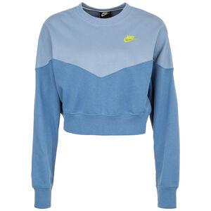 Heritage Crew Fleece Sweatshirt Damen, blau / hellblau, zoom bei OUTFITTER Online