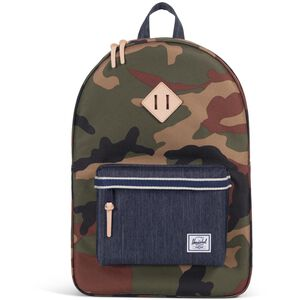 Heritage Rucksack, camouflage / blau, zoom bei OUTFITTER Online