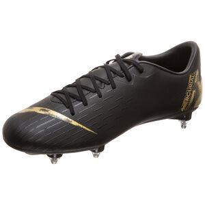 Mercurial Vapor XII Academy SG-Pro Fußballschuh Herren, schwarz / gold, zoom bei OUTFITTER Online