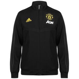 Manchester United Präsentationsjacke Herren, schwarz / grau, zoom bei OUTFITTER Online