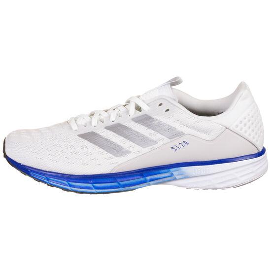 SL20 Laufschuh Herren, weiß / blau, zoom bei OUTFITTER Online