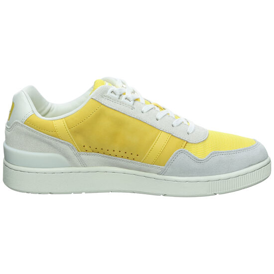 T-Clip Sneaker Herren, weiß / gelb, zoom bei OUTFITTER Online