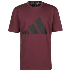 Future Icons Logo Graphic T-Shirt Herren, weinrot / schwarz, zoom bei OUTFITTER Online