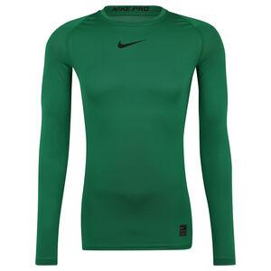 Pro Longlseeve Trainingsshirt Herren, dunkelgrün, zoom bei OUTFITTER Online
