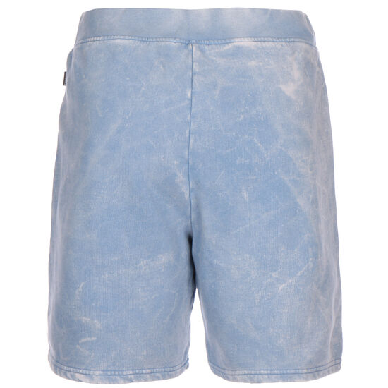 Treatment Fleece Bermuda Short Herren, hellblau / weiß, zoom bei OUTFITTER Online