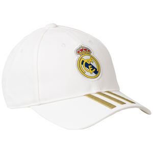 Real Madrid C40 Cap, weiß / gold, zoom bei OUTFITTER Online
