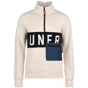 UNFR Half-Zip Sweatshirt Herren, beige / schwarz, zoom bei OUTFITTER Online