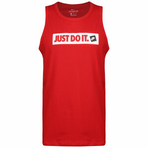 Just Do It Tank Herren, rot, zoom bei OUTFITTER Online