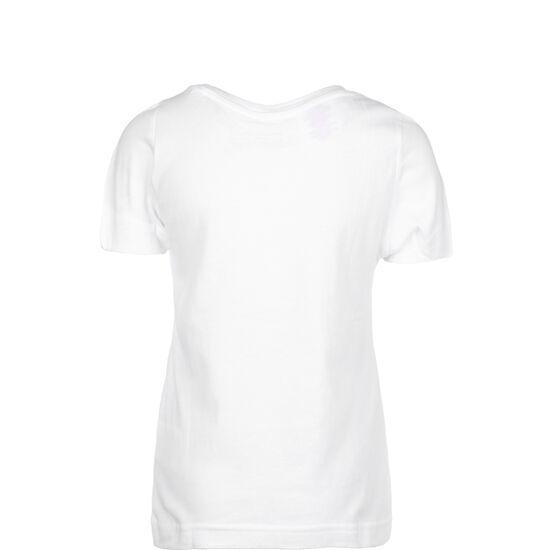Essentials Linear T-Shirt Kinder, weiß / schwarz, zoom bei OUTFITTER Online