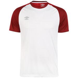 Training Jersey Trainingsshirt Herren, weiß / rot, zoom bei OUTFITTER Online