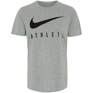DB Swoosh Athlete Trainingsshirt Herren, grau / schwarz, zoom bei OUTFITTER Online